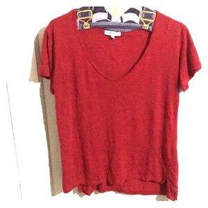 Madewell Red T Shirt